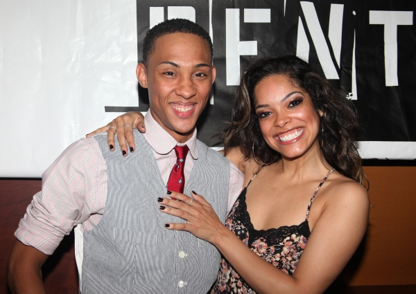 MJ Rodriguez & Arianda Fernandez Photo