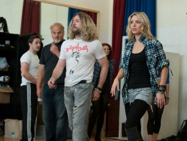 Justin Lee Collins and Amy Pemberton Photo