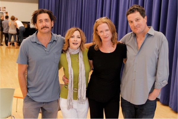 Photo Flash: Rehearsals Begin For POOR BEHAVIOR At CTG/Taper