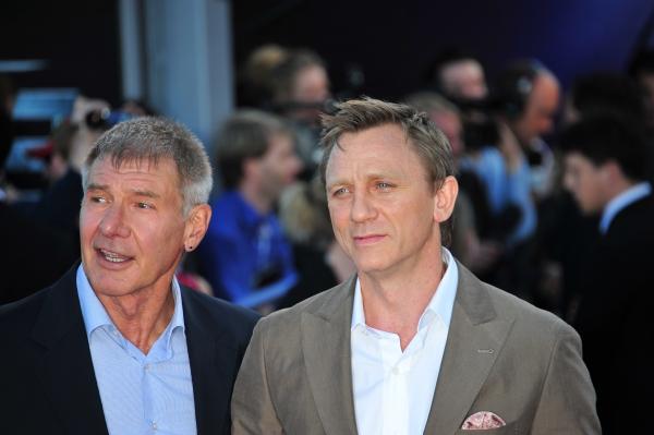 Harrison Ford and Daniel Craig