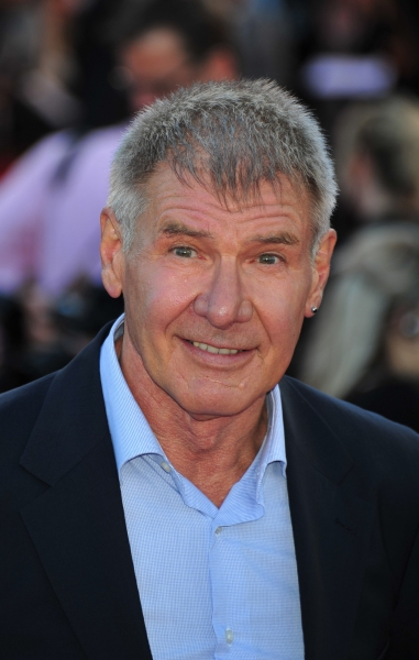 Harrison Ford  at COWBOYS & ALIENS Premieres in London