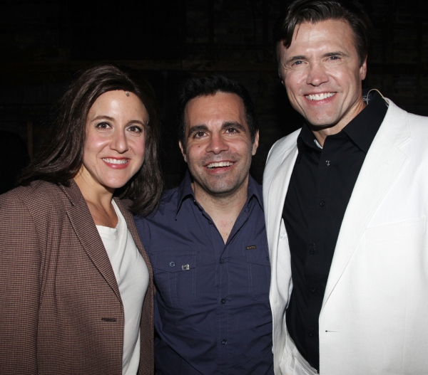 Photo Coverage: Mario Cantone and Christine Pedi Visit SILENCE! The Musical