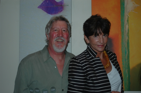 David Geiser and Mercedes Ruehl