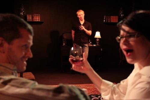 James Stewart, Will Le Vasseur, and Cameran Hebb at Redd Tale's FRANKENSTEIN & GABRIEL