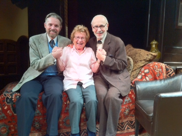 TUCK MILLIGAN, DR. RUTH WESTHEIMER, MARTIN RAYNER Photo