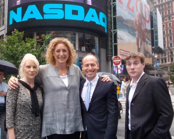 Photo Flash: Judy Gold Rings NASDAQ's Opening Bell!