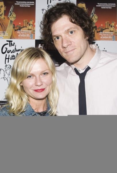 Kirsten Dunst and Adam Rapp