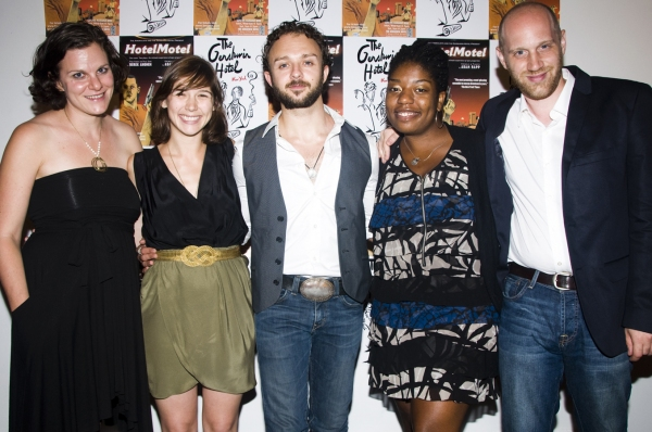 Photo Flash: Opening Night of HOTELMOTEL at The Gershwin Hotel