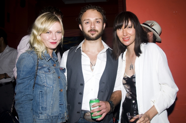 Kirsten Dunst, James Kautz and Karen O