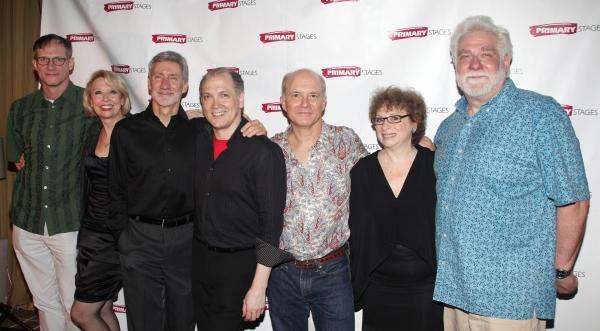 Director Mark Brokaw, Julie Halston, David Garrison, Playwright Charles Busch, Dan Bu Photo