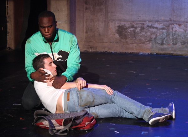 Photo Coverage: SAMMY GETS MUGGED First Look Exclusive!