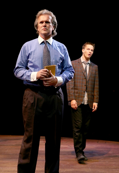 George Dvorsky (Reverend Shaw Moore) and John Jeffrey Martin