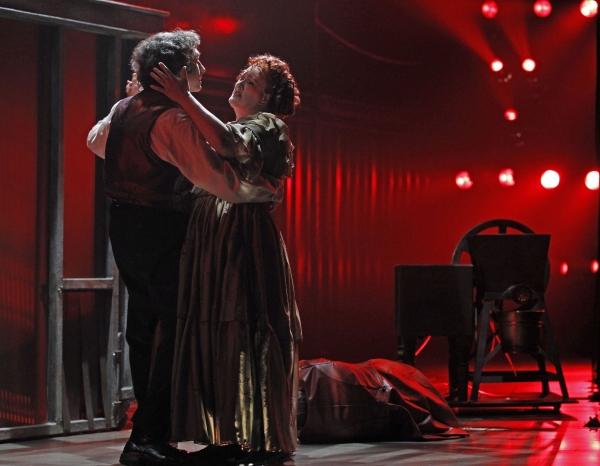 Gregg Edelman and Liz McCartney at Drury Lane Theatre Presents SWEENEY TODD