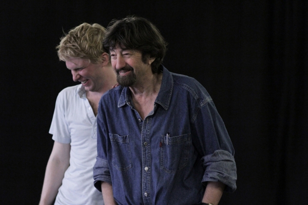 Photo Flash: Ralph Fiennes, Elisabeth Hopper, et al. in Rehearsal for THE TEMPEST