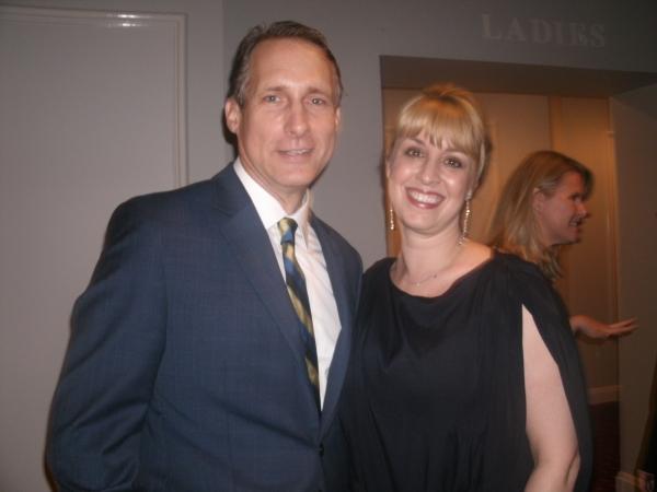 Gregg Edelman and Rachel Rockwell