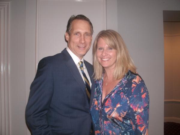 Gregg Edelman and Roberta Duchak