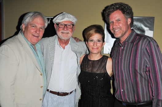 Friend, Lee Farrell, Ana Gasteyer & Will Farrell at Catalina Jazz Club at Ana Gasteyer Makes L.A. Debut with 'Elegant Songs'
