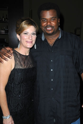 Ana Gasteyer and Craig Robinson at Catalina Jazz Club at Ana Gasteyer Makes L.A. Debut with 'Elegant Songs'