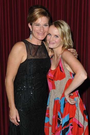Ana Gasteyer and Kate Reinders at Catalina Jazz Club