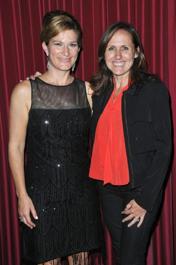 Ana Gasteyer and Molly Shannon at Catalina Jazz Club at Ana Gasteyer Makes L.A. Debut with 'Elegant Songs'