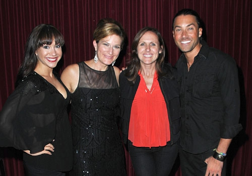 Diana DeGarmo, Ana Gasteyer, Molly Shannon, and Ace Young at Catalina Jazz Club