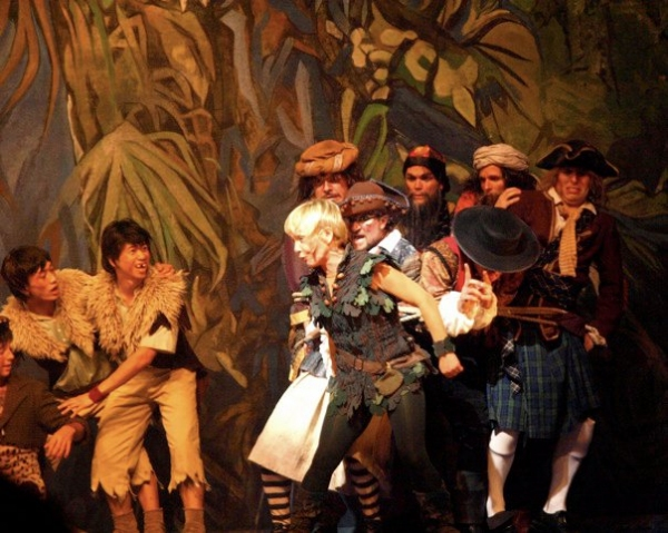 Marc Andrew Nunez, Shannon Stoeke, Cathy Rigby Mccoy, James Leo Ryan, John Todd, J. David Anderson, Andrew Wilson at Cathy Rigby Returns as PETER PAN