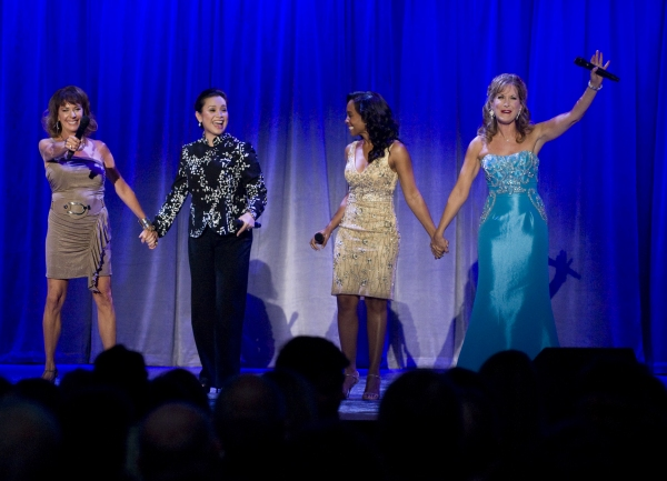 Aug. 19, 2011 - Anaheim, California, U.S. - Paige O'Hara, Lea Salonga, Anika Noni Rose and Jodi Benson sing a princess medley at the Anaheim Convention Center Friday. All four received Disney Legend Awards...///ADDITIONAL INFO: n.d23.0820 - 8/19/11  - PHO at Lea Salonga, Anika Noni Rose, Paige O'Hara et al. Honored at D23 Expo