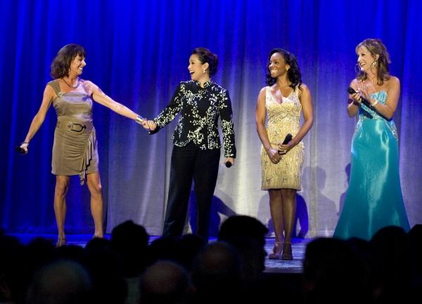 Aug. 19, 2011 - Anaheim, California, U.S. - Paige O'Hara, Lea Salonga, Anika Noni Rose and Jodi Benson sing a princess medley at the Anaheim Convention Center Friday. All four received Disney Legend Awards...///ADDITIONAL INFO: n.d23.0820 - 8/19/11  - PHO at Lea Salonga, Anika Noni Rose, Paige O'Hara et al. Honored at D23 Expo