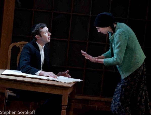 Adam Green & Renata Friedman at MY NAME IS ASHER LEV Premieres at Barrington Stage Company