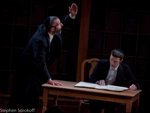 Daniel Cantor & Adam Green at MY NAME IS ASHER LEV Premieres at Barrington Stage Company