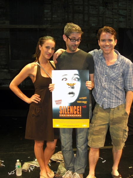 America Olivo, Stage Manager Ritchard Druther, Christian Campbell