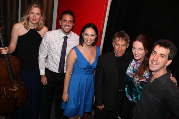 Photo Coverage: Willemijn Verkaik Plays Birdland with Stephen Schwartz, Jason Robert Brown & Scott Alan