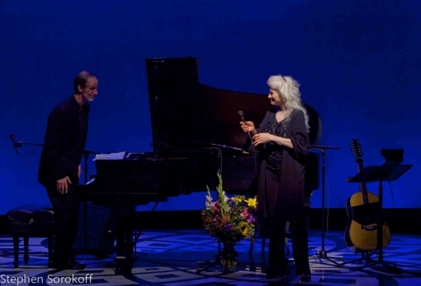 Russell Walden (Music Director) & Judy Collins Photo