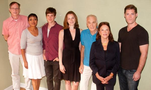 Mark Brokaw, Brenda Pressley, Michael Esper, Kate Jennings Grant, Dick Latessa, Linda Lavin, and Greg Wooddell