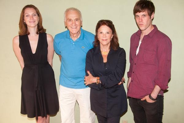 Kate Jennings Grant, Dick Latessa, Linda Lavin, and Michael Esper