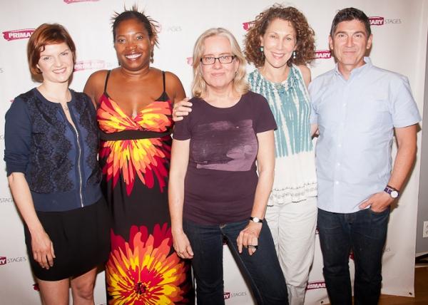 Mary Bacon, Saidah Arrika Ekulona, Lisa Peterson, Randy Graff and James Lecesne