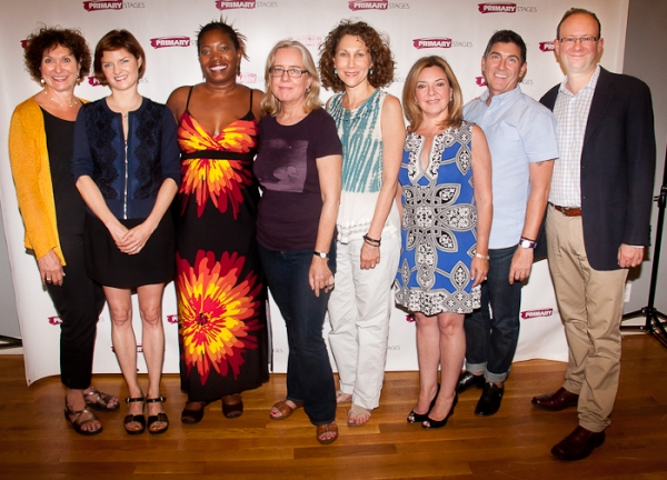 Joan Stein, Mary Bacon, Saidah Arrika Ekulona, Lisa Peterson, Randy Graff, Susan R. Rose, James Lecesne, and Andrew Leynse