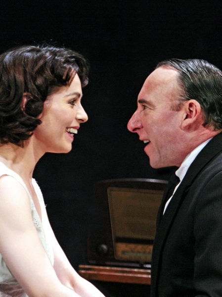 ANTONY SHER AND TARA FITZGERALD at BROKEN GLASS Comes To Tricycle Theatre