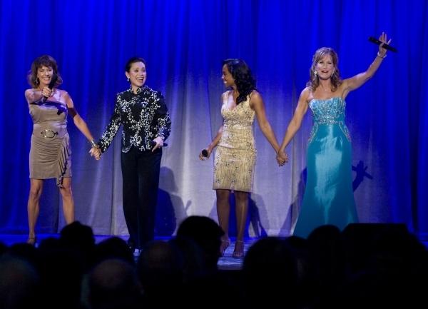 Paige O'Hara, Lea Salonga, Anika Noni Rose and Jodi Benson. Photo Credit: Joshua Sudock/The Orange County Register