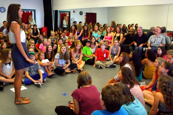 Photo Flash: Shaiman and Wittman Surprise Students at Broadway Artists Alliance 2011 Summer Session