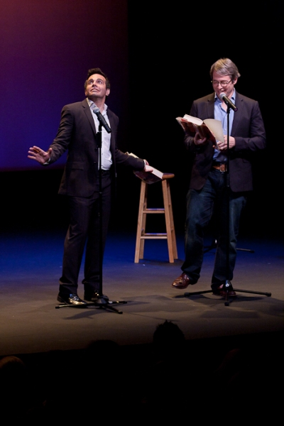Photo Coverage: Matthew Broderick, Nathan Lane et al. Brave the Rain for CELEBRITY AUTOBIOGRAPHY - Hamptons Edition