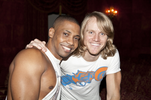Corey Bradley and Marshal Kennedy