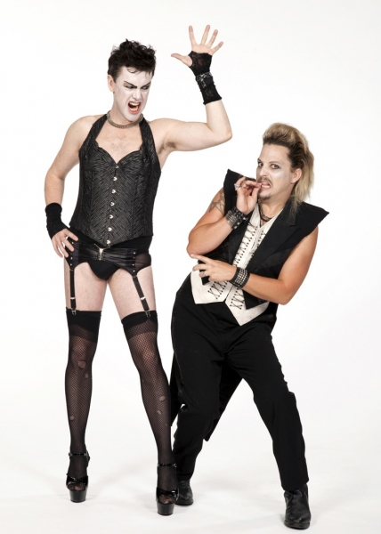 Matt McGrath and Jason Wooten at Matt McGrath & More in The Old Globe's ROCKY HORROR SHOW - First Promo Shots!