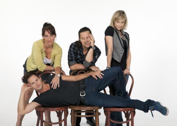 Laura Shoop, Jason Wooten, Nadine Isenegge and Andrew Call Photo