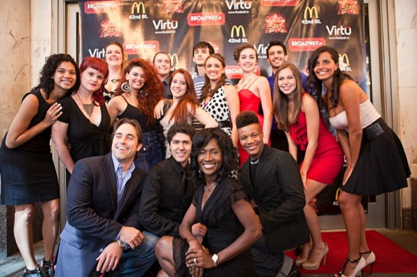 Photo Flash: McDonald's 'Next Broadway Star' Kicks Off!