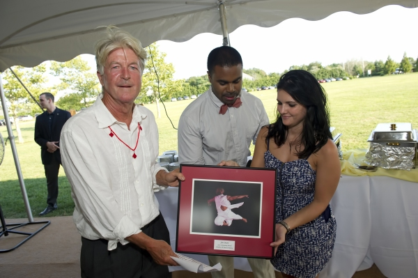Artist, educator and Hayground School co-founder Jon Snow was honored.