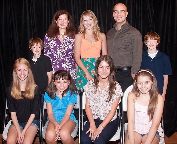Noah Radcliffe, Tina Stafford, Jillian Louis, Eric Anderson, Ben Radcliffe (front row Photo