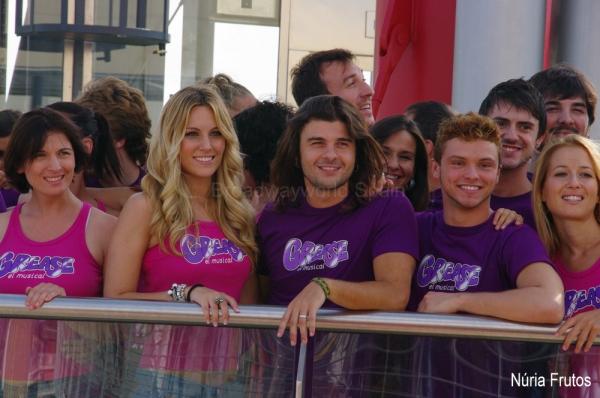 Edurne y Jordi Coll, al frente del reparto de Grease 2011