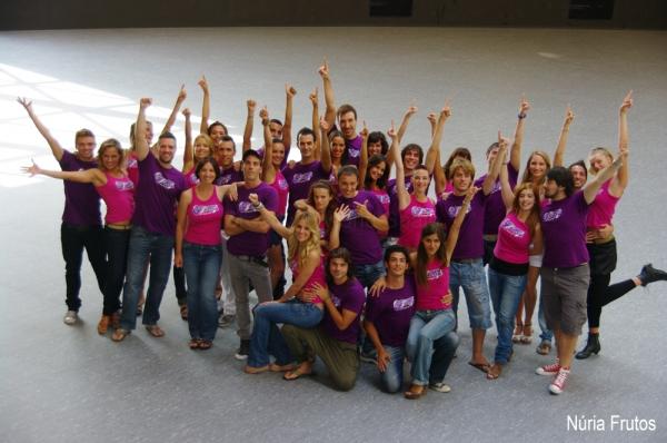 PHOTO FLASH: Presentación del reparto de Grease en Barcelona