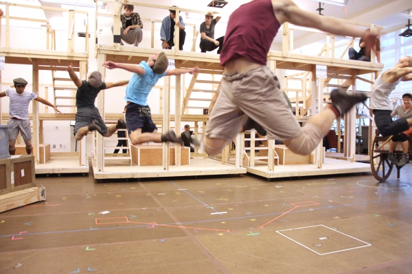 Photo Coverage: NEWSIES Performance Preview - Complete Coverage!